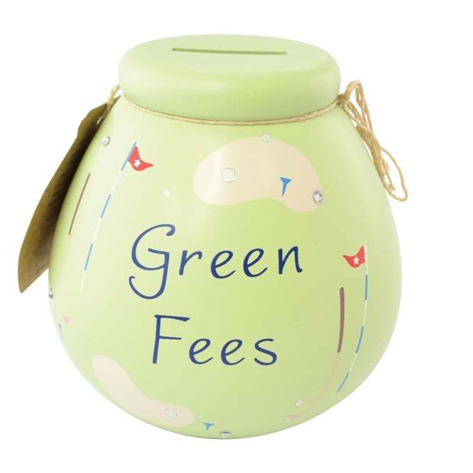 Golf Green Fees Pots Of Dreams Money Pot Gifts Save Up