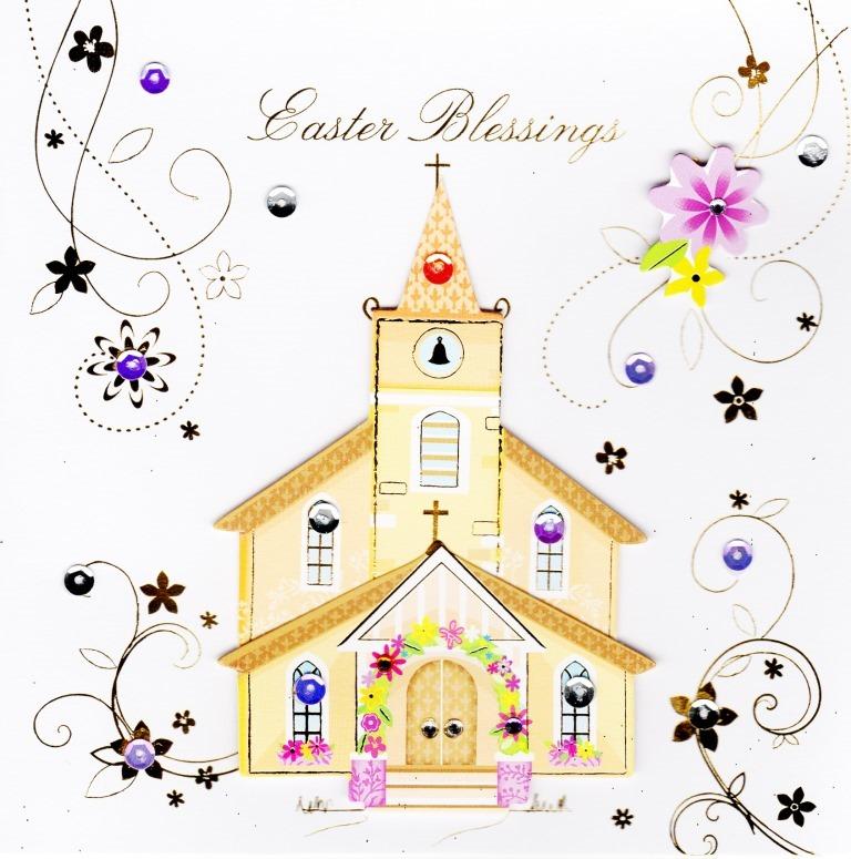 It is a picture of Delicate Free Printable Easter Cards Religious