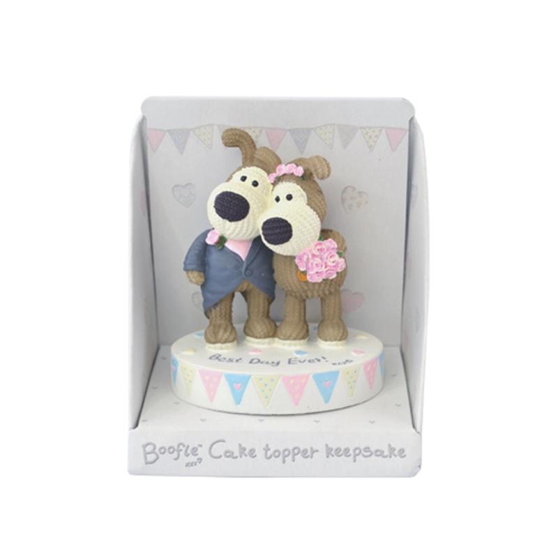 Boofle Wedding Cake Topper