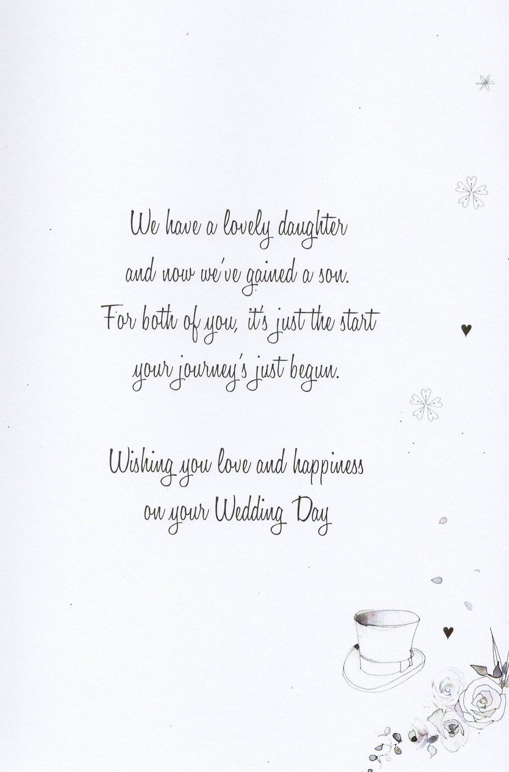 daughter  u0026 husband wedding card water colours by second