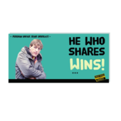 Only Fools and Horses He Who Shares Wins Chocolate Bar