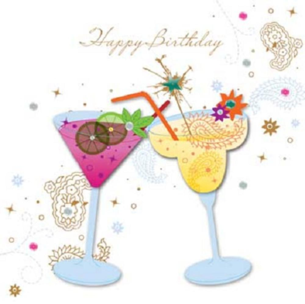 handmade cocktails happy birthday greeting card by talking clipart wine glasses bottles clipart wine glass with ring in