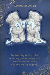 Me To You For Our Dad Father's Day Card