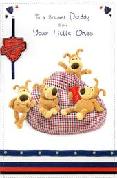 Daddy From Little Ones Boofle Happy Father's Day Card