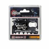 Wallet Ninja Flat Multi Tool 18 Tools In 1 Pocket Gadget