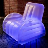 The Starlite Luna Inflatable Colour Changing Arm Chair