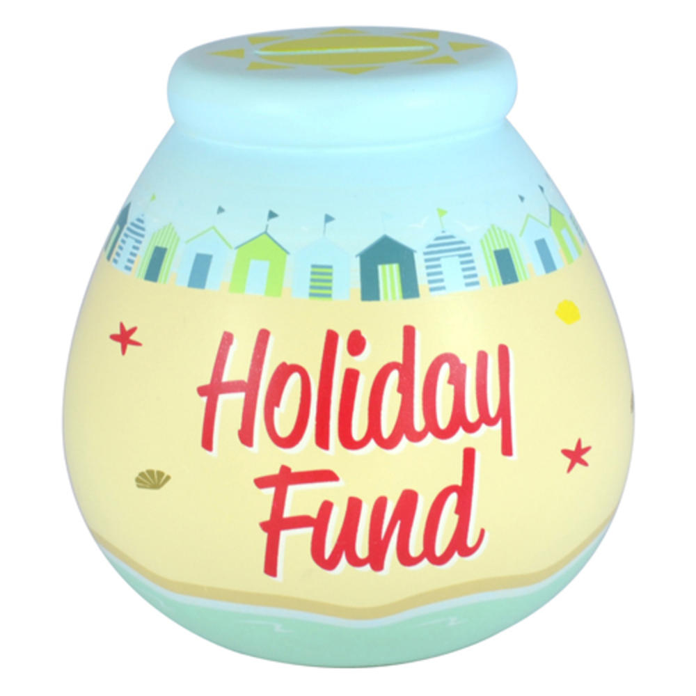 Holiday fund pots of dreams money pot gifts love kates for Money saving box ideas
