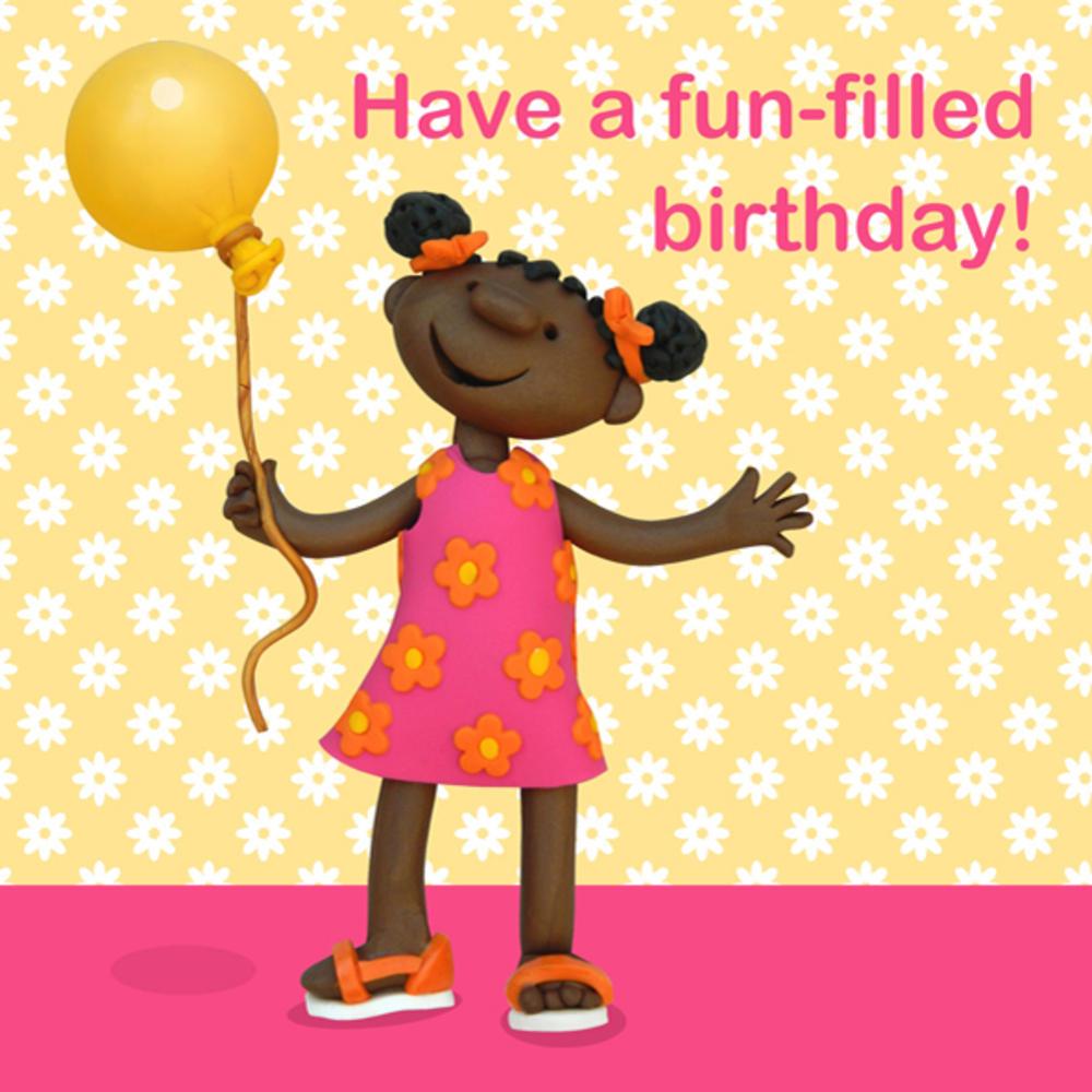 Have A Fun-Filled Birthday Children's Birthday Card ...