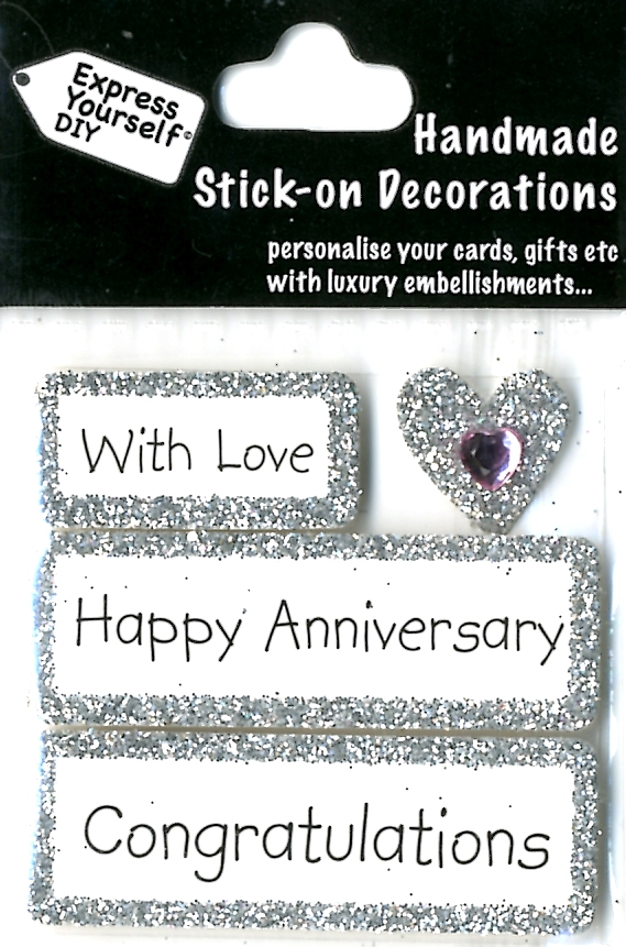 Wedding Gifts For Nephew : ... Anniversary DIY Greeting Card Toppers Gift Accessories Love Kates