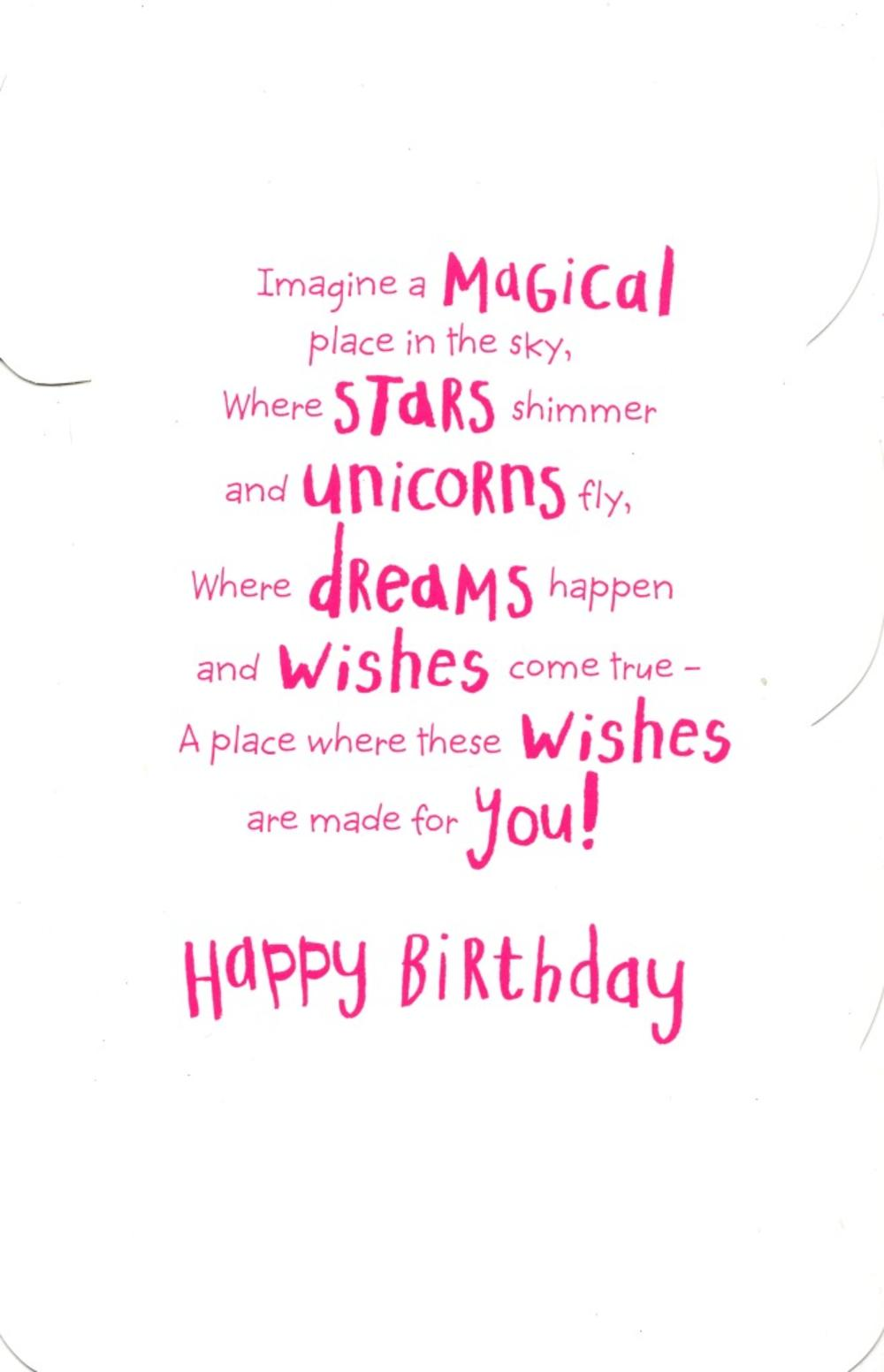 Girls Happy 4th Birthday Greeting Card With Badge Cards Happy 4th Birthday Wishes To My