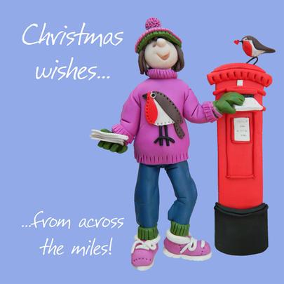 christmas cards across the miles