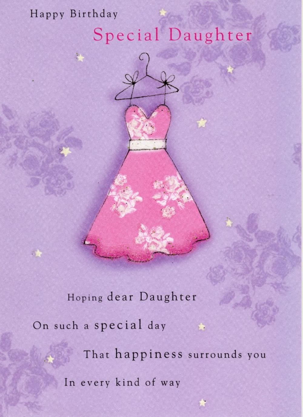 Special Daughter Birthday Greeting Card | Cards | Love Kates