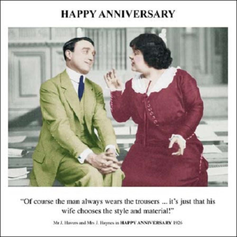 Wedding Gift List Rude : Happy Anniversary Greeting Card Cards Love Kates