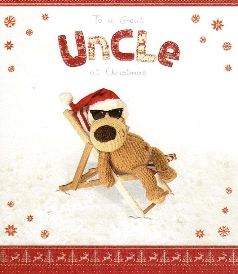 Boofle Great Uncle Christmas Greeting Card Cards Love
