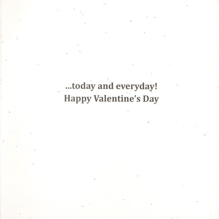 My Love For You Is Huge Valentines Day Greeting Card Embellished – Huge Valentine Cards