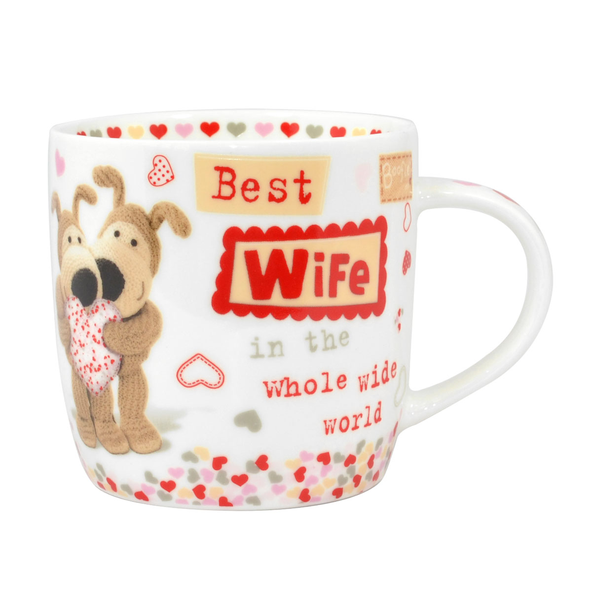 Boofle Best Wife In The World China Mug In Gift Box