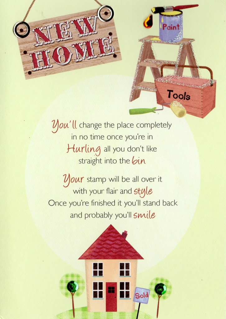 Greeting Cards New Home Congratulations