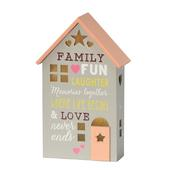Family Where Life Begins Light Up House Gift