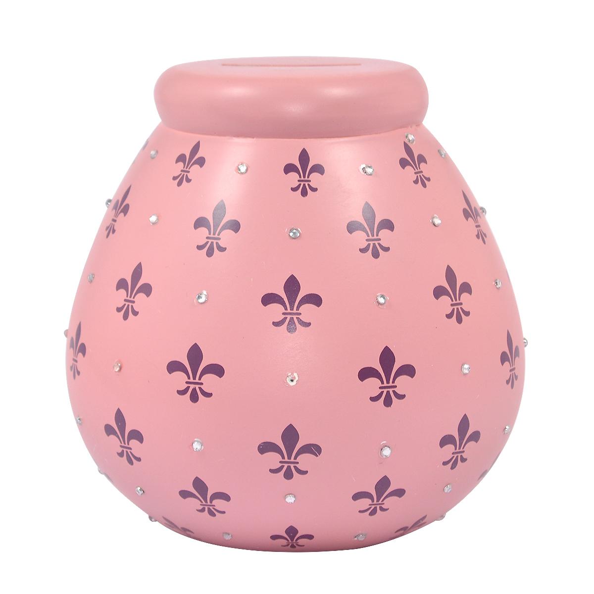 fleur de lys pots of dreams money pot gifts love kates. Black Bedroom Furniture Sets. Home Design Ideas
