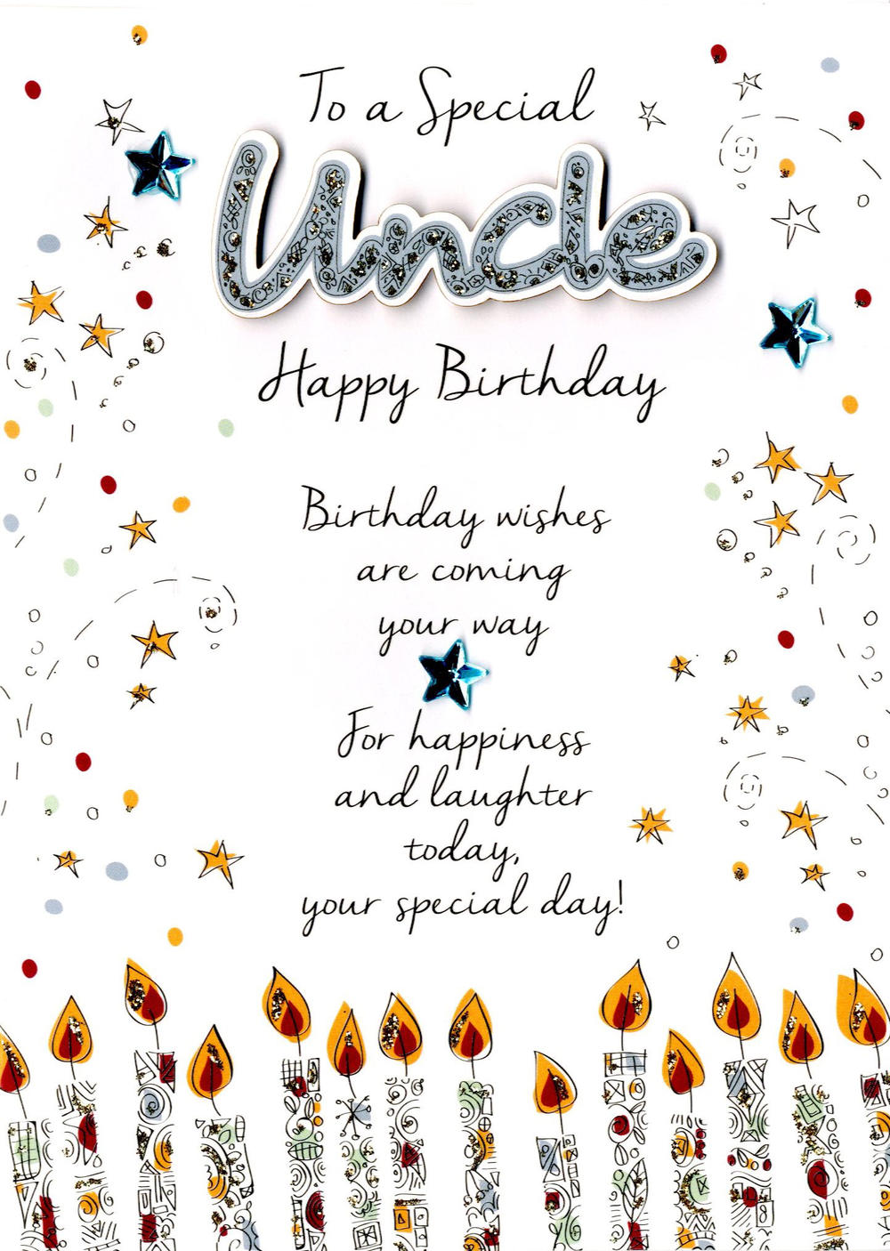 special uncle birthday greeting card  cards  love kates, Birthday card