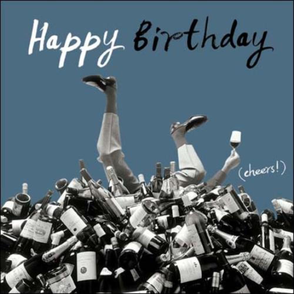 Happy Birthday Cheers! Retro Humour Birthday Card | Cards | Love Kates