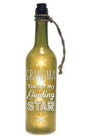 Grandma Starlight Bottle Light Up Sentimental Message Bottles