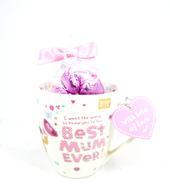 Boofle Best Mum Ever Mug & Chocolates Gift Set