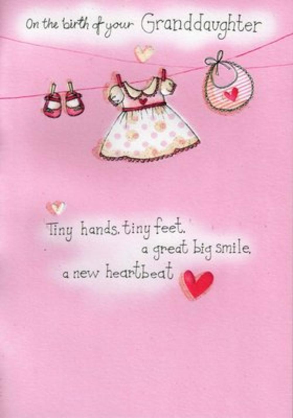 New Baby Greeting Card Verses Images Greetings Card Design Simple