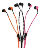 Thumbs Up Zip Headphone Choice Colours