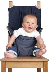 Totseat Denim Baby Travel Highchair 8-30 Months