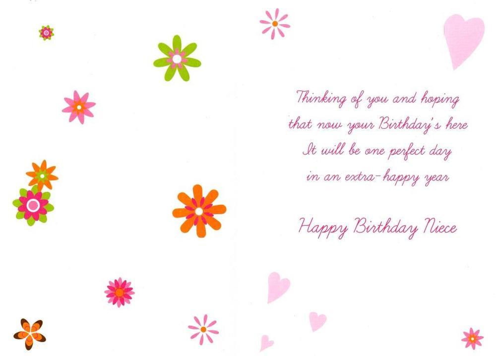 niece lovely birthday card  cards  love kates, Birthday card