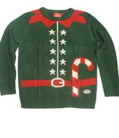 Elf Outfit Genuine Crazy Granny Knitted Christmas Jumper