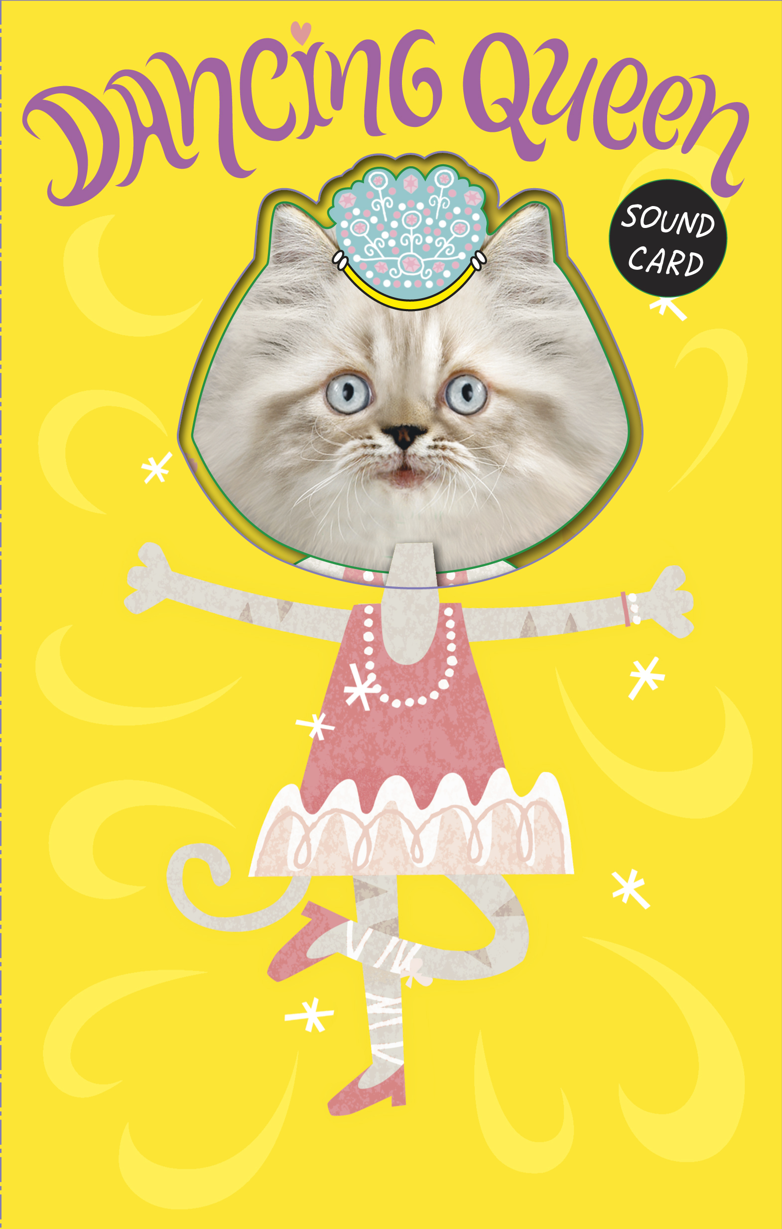 Best of cat birthday cards pics laughterisaleap funny dancing queen cat birthday sound card noisy inventions kristyandbryce Gallery