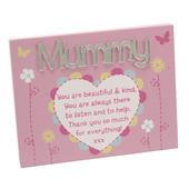Mummy Plaque Lovely Mirror Words & Verse