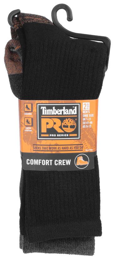 Timberland pro Work Socks 2 Pack Thumbnail 2