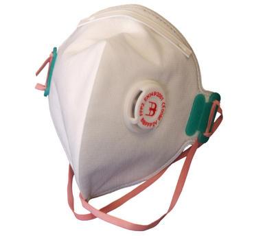 B Brand Fold Flat Disposable Dust Masks FFP2V 20 Pack