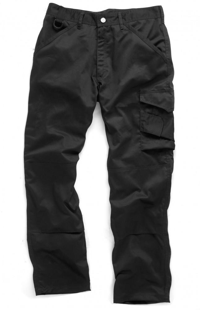 Scruffs-Worker-Multipocket-Work-Trousers-Pants-Navy-Blue-or-Black-30-40