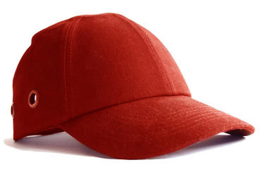 Safety Baseball Cap Red  Thumbnail 1