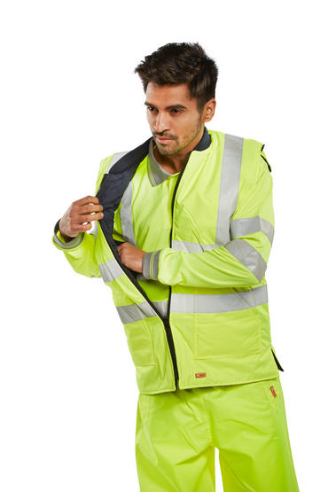 Be Seen Hi Viz Reversible Bodywarmer  Thumbnail 2