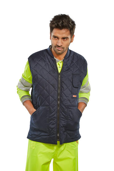 Be Seen Hi Viz Reversible Bodywarmer  Thumbnail 3