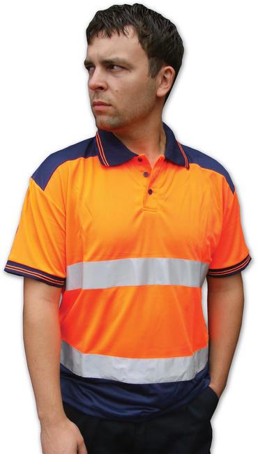Hi Viz Polo Shirt