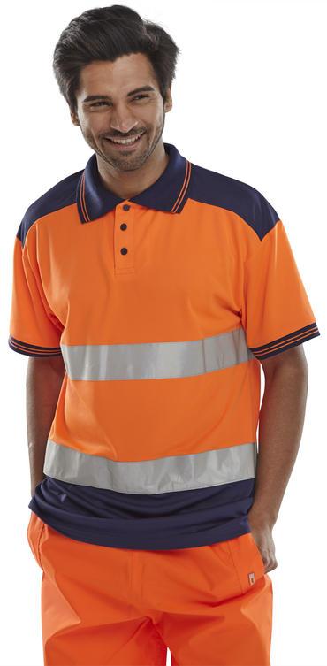Hi Viz Polo Shirt  Thumbnail 3