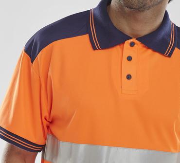 Hi Viz Polo Shirt  Thumbnail 5