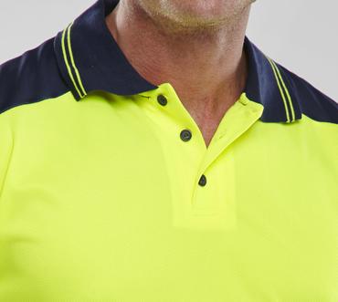 Hi Viz Polo Shirt  Thumbnail 6