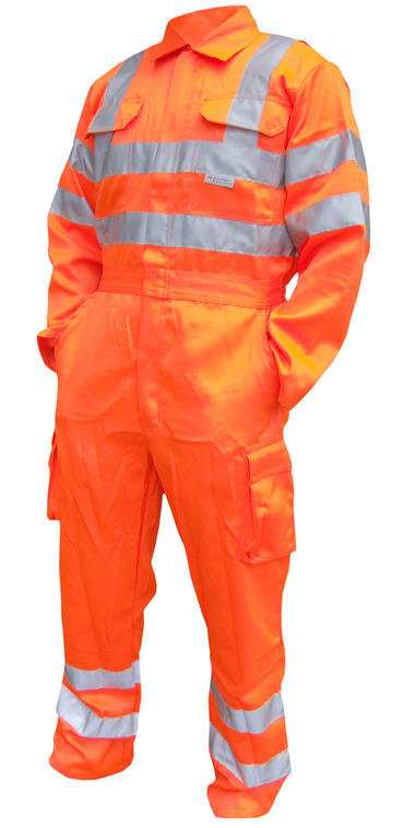 Be Seen Hi Viz Railspec Coverall