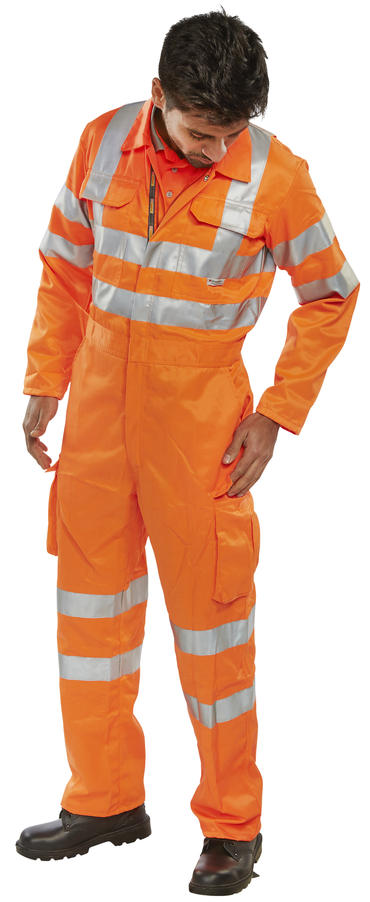 Be Seen Hi Viz Railspec Coverall  Thumbnail 2