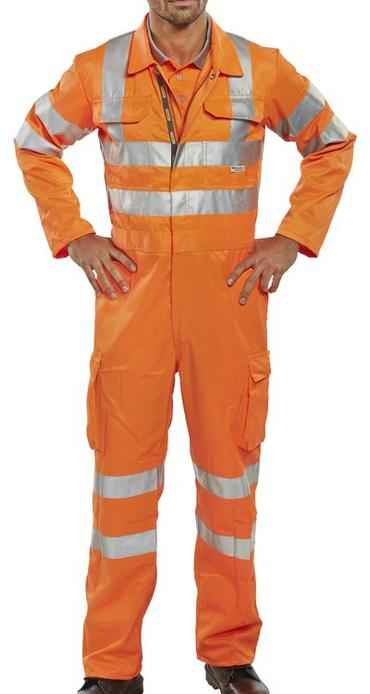 Be Seen Hi Viz Railspec Coverall  Thumbnail 3