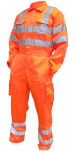 Be Seen Hi Viz Railspec Coverall