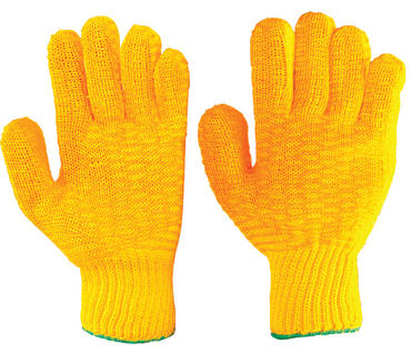 Criss Cross Handling Grip Gloves 10 Pair Pack