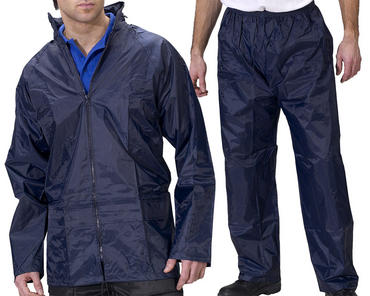 B Dri Waterproof Suit Navy Thumbnail 1